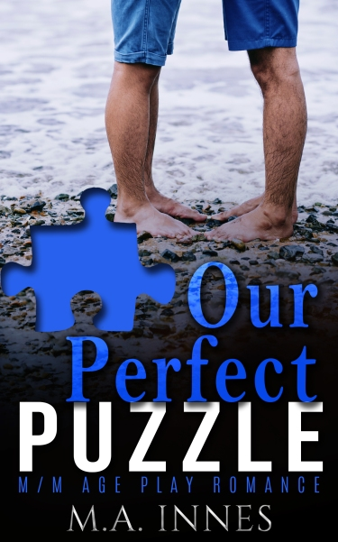 Our Perfect Puzzle by MA Innes - Gay Romance Age Play Ebook Cover